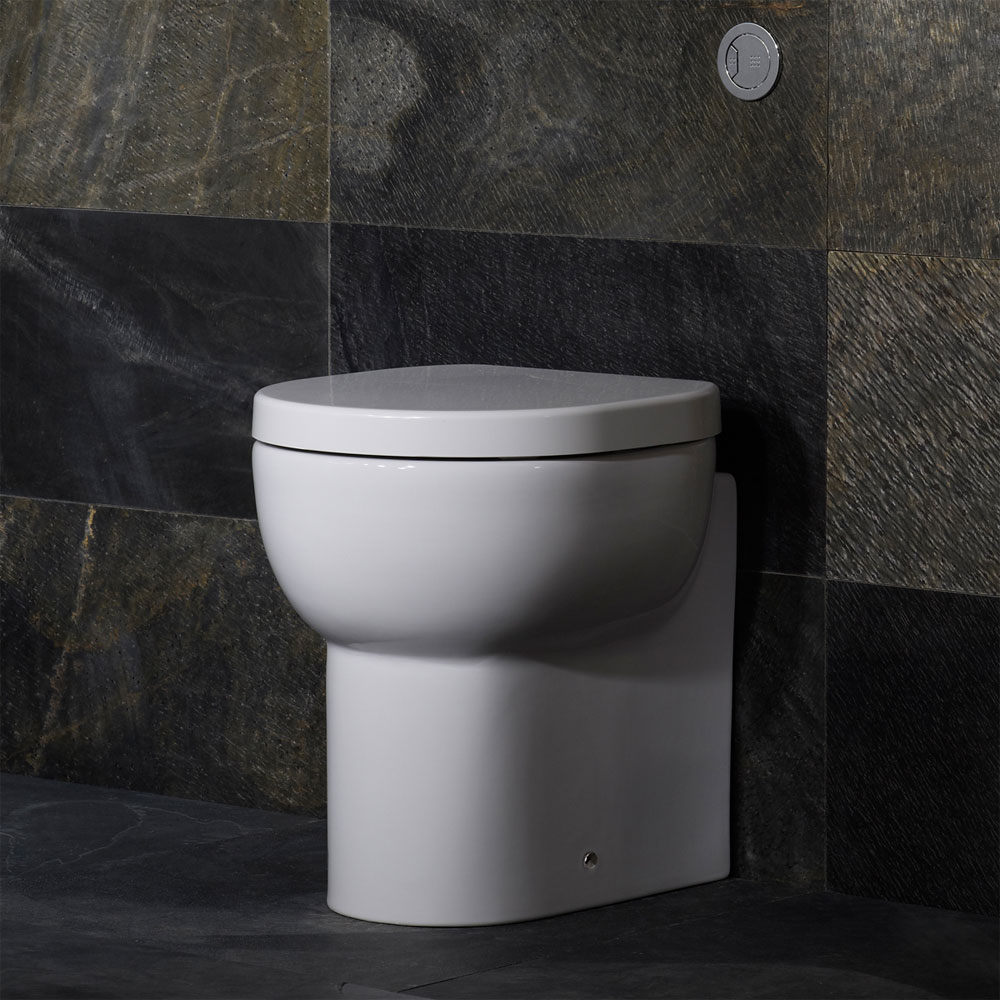 Roper Rhodes Zest Short Projection Back to Wall WC Pan & Soft Close Seat profile large image view 3
