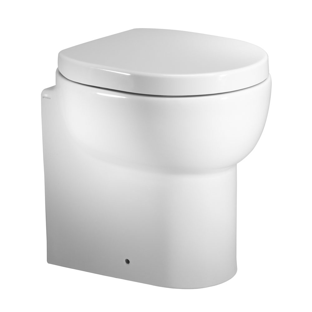 Roper Rhodes Zest Short Projection Back to Wall WC Pan & Soft Close Seat Large Image