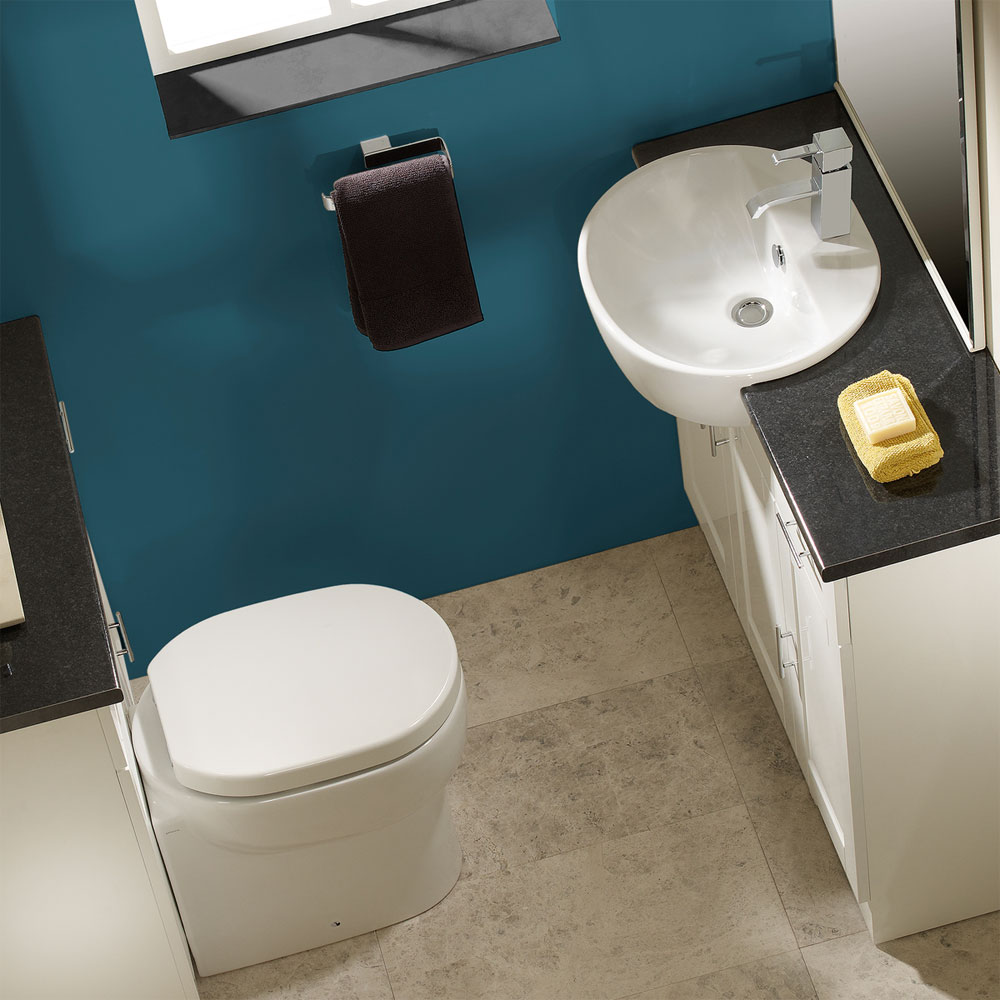 Roper Rhodes Zest Back to Wall WC Pan & Soft Close Seat Feature Large Image