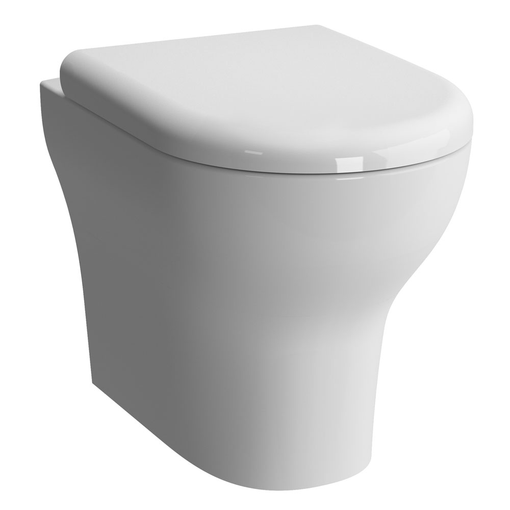 Vitra - Zentrum Back to Wall Toilet Pan - 2 x Seat Options Large Image