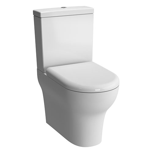 Vitra - Zentrum Close Coupled Toilet - Closed Back - 2 x Seat Options profile large image view 1