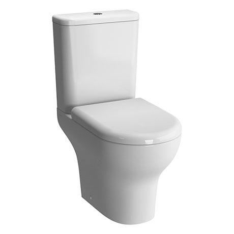Vitra - Zentrum Close Coupled Toilet - Open Back - 2 x Seat Options