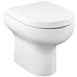 Britton Bathrooms Zen Back to Wall Pan + Soft Close Seat