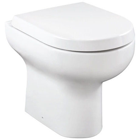 Britton Bathrooms Zen Back to Wall Pan + Soft Close Seat