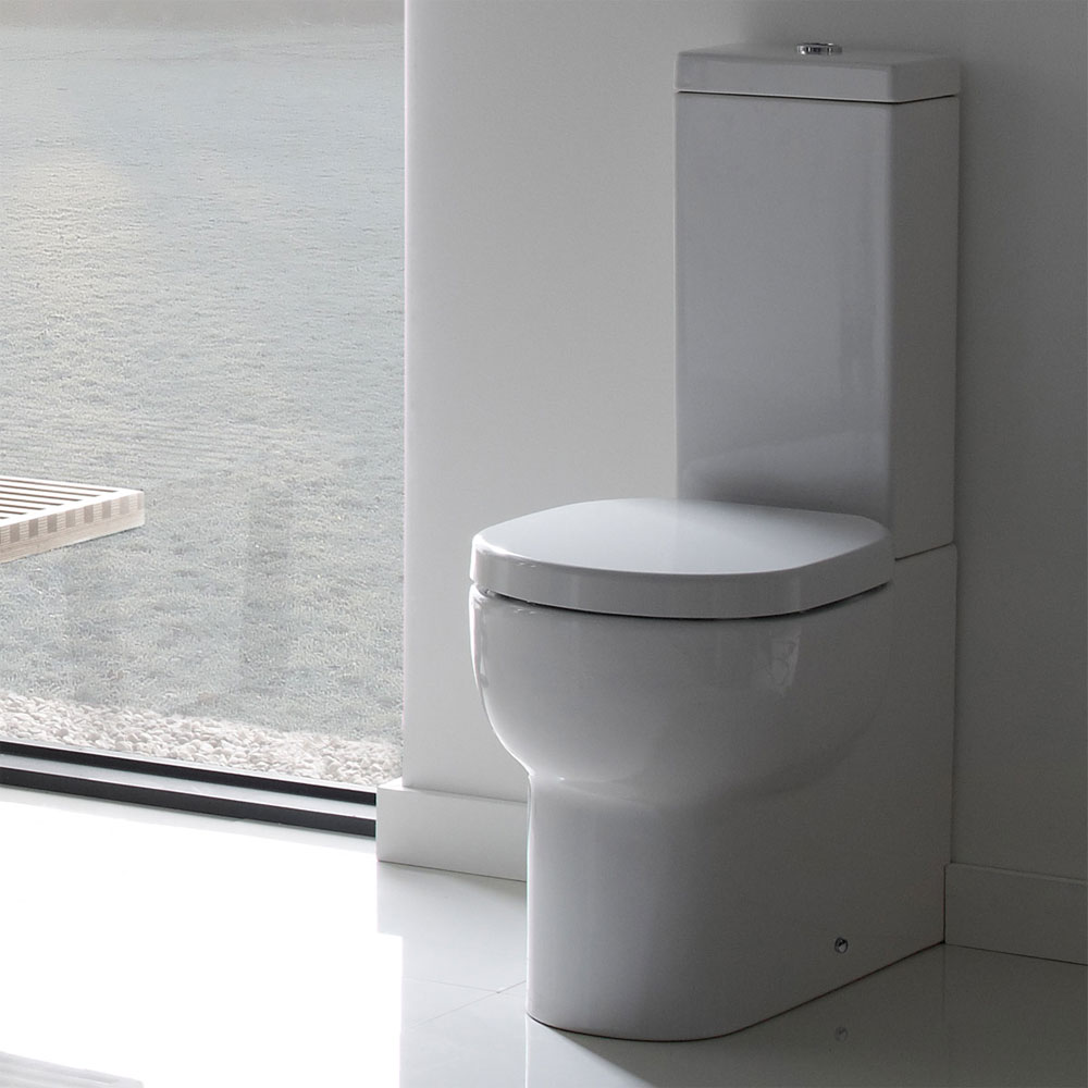 Roper Rhodes Zest Close Coupled WC, Cistern & Soft Close Seat profile large image view 3