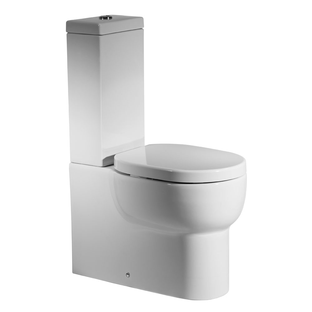 Roper Rhodes Zest Close Coupled WC, Cistern & Soft Close Seat Large Image