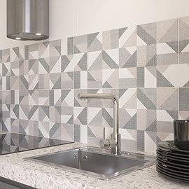Zion Geo Decor Wall Tiles - 300 x 600mm