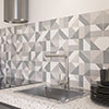 Zion Geo Decor Wall Tiles - 300 x 600mm Small Image
