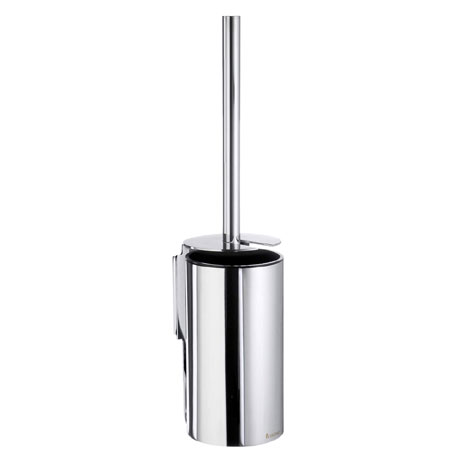 Smedbo Pool Wall Mounted Toilet Brush - Polished Chrome - ZK332