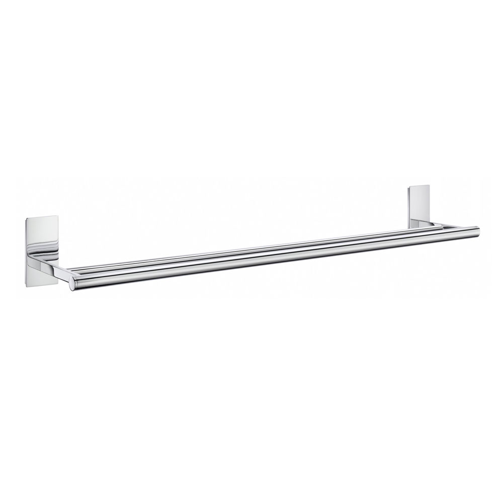 Smedbo Pool Double Towel Rail - Polished Chrome - ZK3364 profile large image view 1