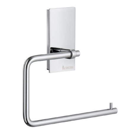 Smedbo Pool Toilet Roll Holder - Polished Chrome - ZK341