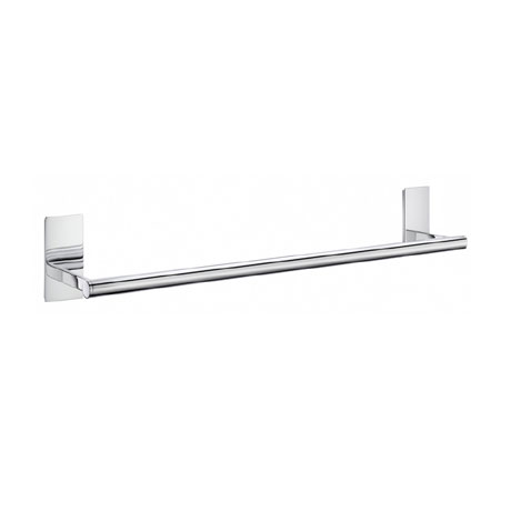Smedbo Pool Single Towel Rail - Polished Chrome - ZK346