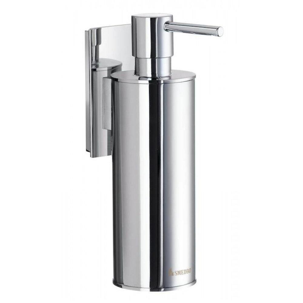 Smedbo Pool Wall Mounted Soap Dispenser - Polished Chrome - ZK370 Large Image