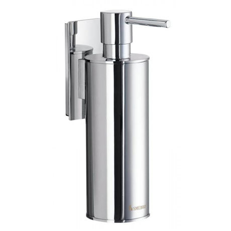 Smedbo Pool Wall Mounted Soap Dispenser - Polished Chrome - ZK370