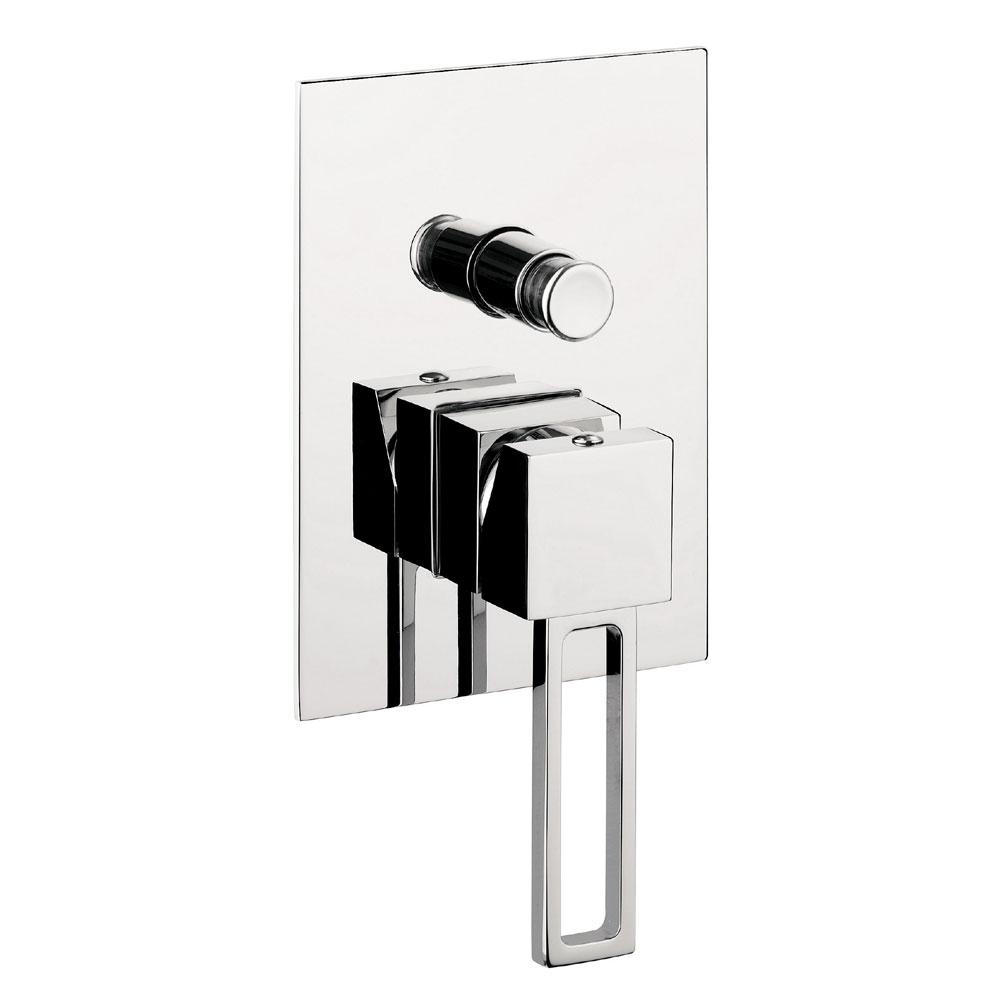 Crosswater - Zest Concealed Manual Shower Valve with Diverter - ZT0005RC Large Image