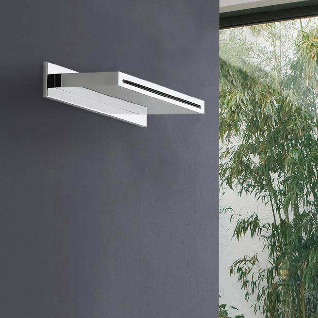 Crosswater Zest Waterfall Spout - ZT200WC profile large image view 2