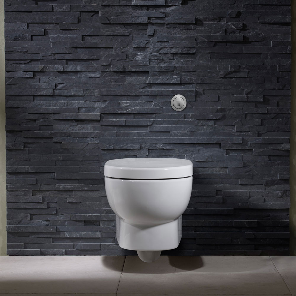 Roper Rhodes Zest Wall Hung WC Pan & Soft Close Seat Feature Large Image