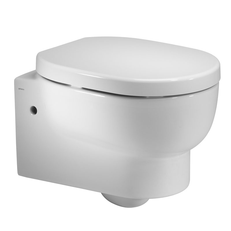 Roper Rhodes Zest Wall Hung WC Pan & Soft Close Seat Large Image