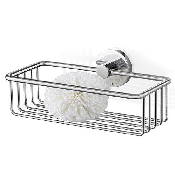 Zack - Scala 23.5cm Stainless Steel Shower Basket - 40084 Large Image