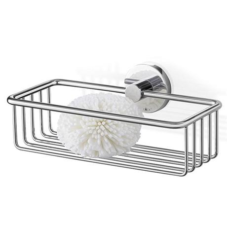 Zack - Scala 23.5cm Stainless Steel Shower Basket - 40084