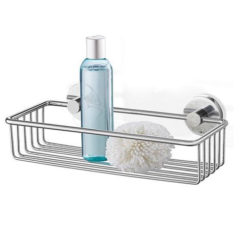 Zack Scala 31cm Modern Stainless Steel Shower Basket