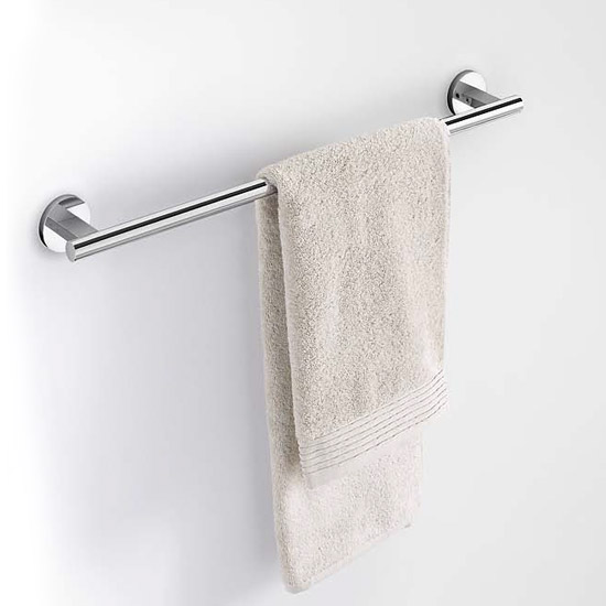 Zack - Scala 60cm Stainless Steel Towel Rail - 40057 profile large image view 2