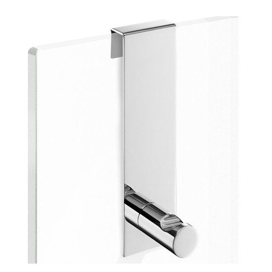Zack - Scala Hook for frameless glass Shower Enclosures - 40089 profile large image view 1