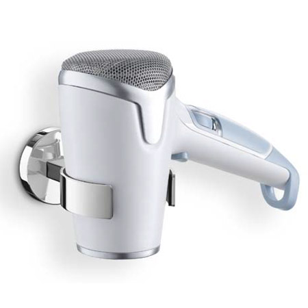 Zack - Scala Stainless Steel Hair Dryer Holder - 40054 Large Image