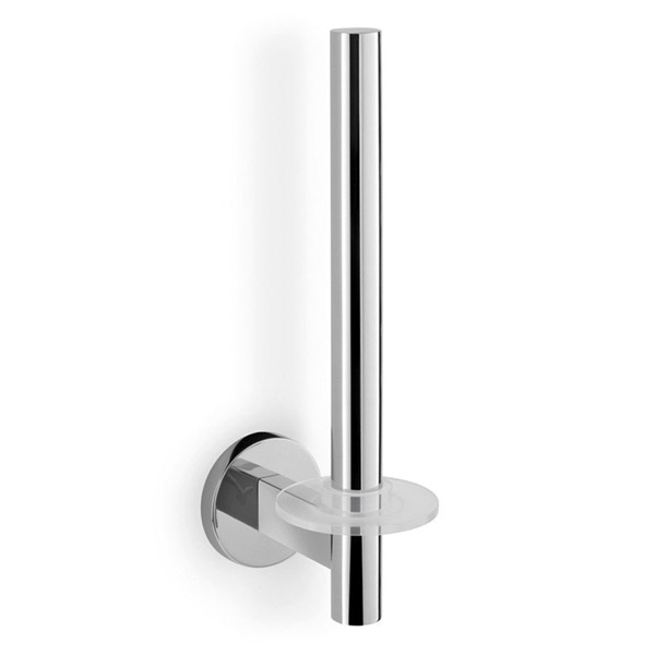 Zack - Scala Stainless Steel Spare Toilet Roll Holder - 40053 profile large image view 2