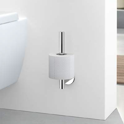 Zack - Scala Stainless Steel Spare Toilet Roll Holder - 40053 profile large image view 3