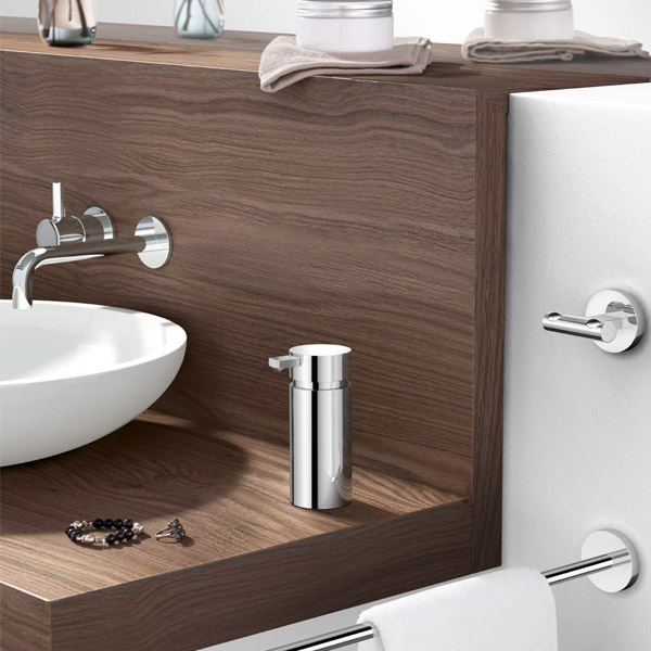 Zack - Scala Stainless Steel Soap Dispenser - 40079 profile large image view 2