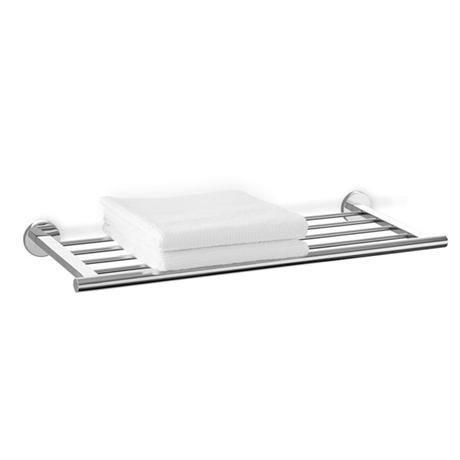 Zack - Scala Stainless Steel Towel Shelf - 40065