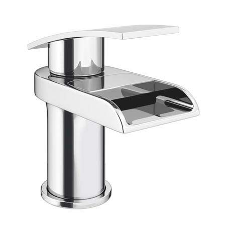 Zen Waterfall Cloakroom Mono Basin Mixer + Waste