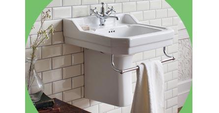 semi pedestal basin image