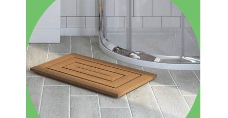 bathroom duckboards
