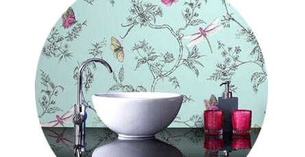 Excellent Bathroom Wallpaper Designer Bathroom Wallpaper Victorian Interior Design Ideas Oteneahmetsinanyavuzinfo