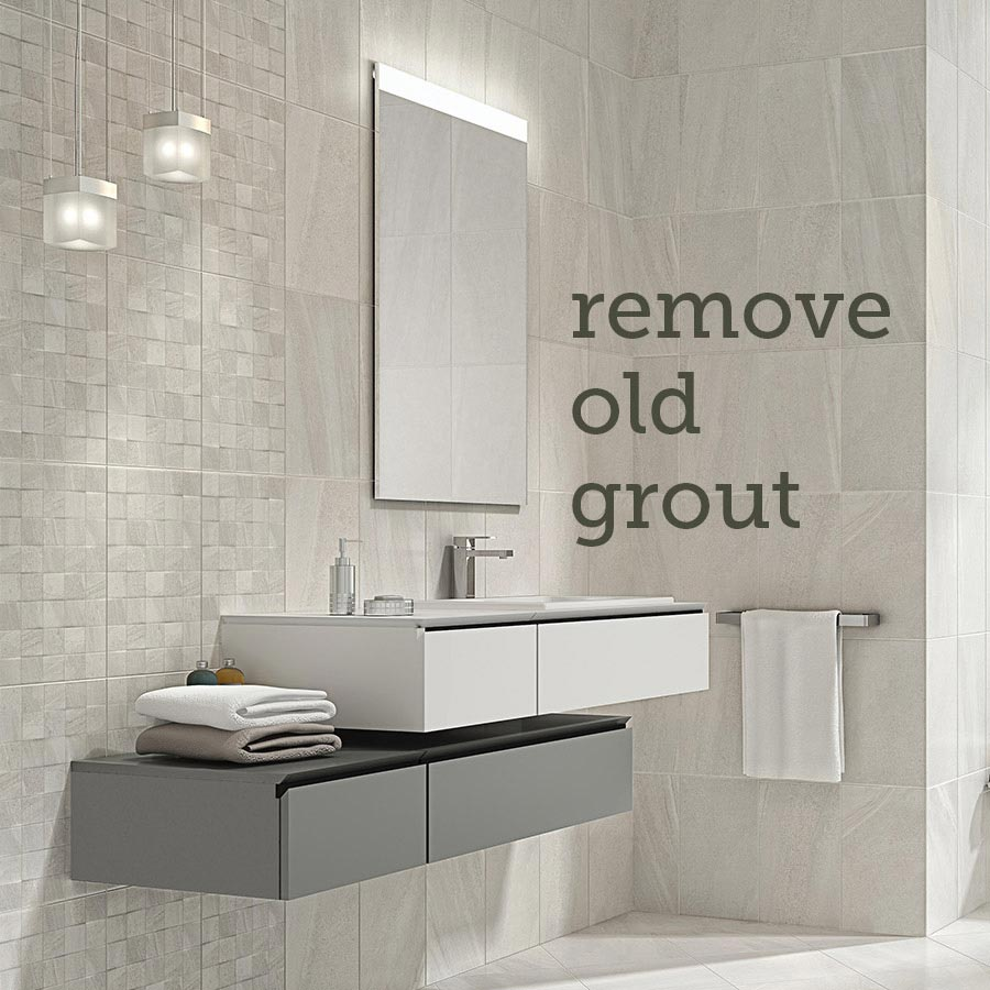 Read our guide: Replacing out tile grout