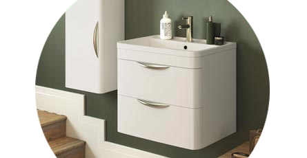 monza bathroom furniture range