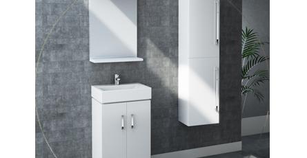 nova white bathroom furniture