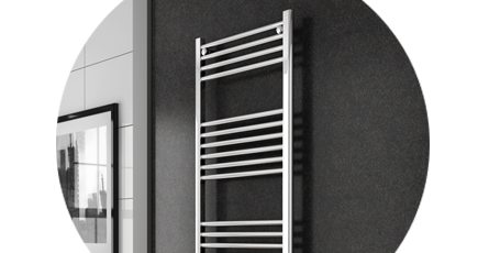 ladder heated towel rail
