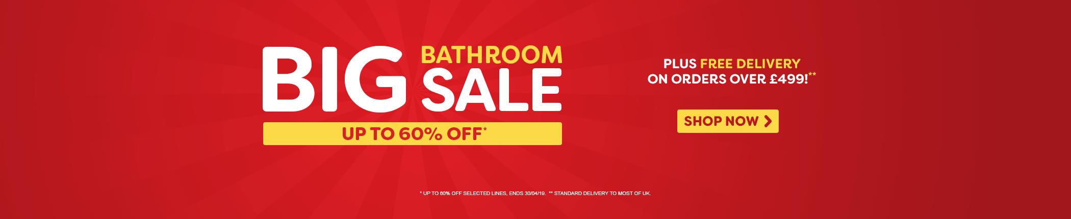 Big Bathroom Sale