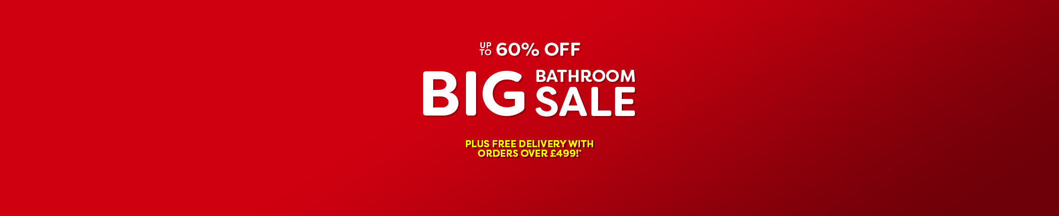 Big Bathroom Sale