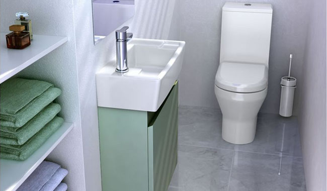 Britton Bathrooms Cloakroom Suite