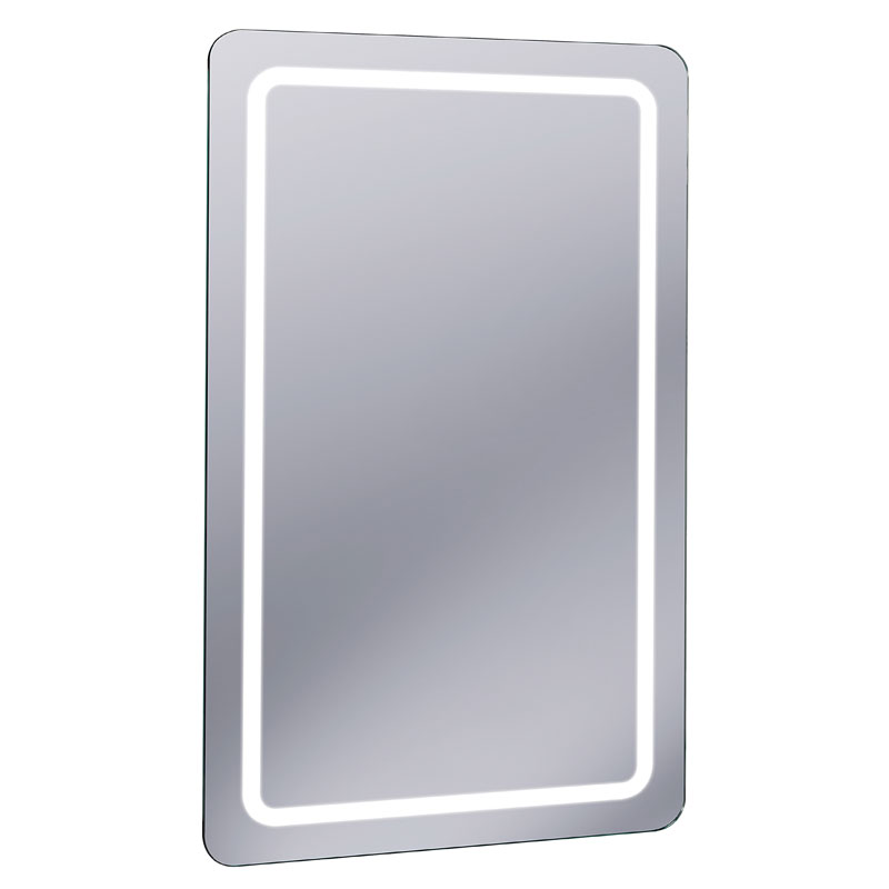 Bauhaus - Celeste 100 LED Back Lit Mirror with Demister Pad - MF10060B Large Image