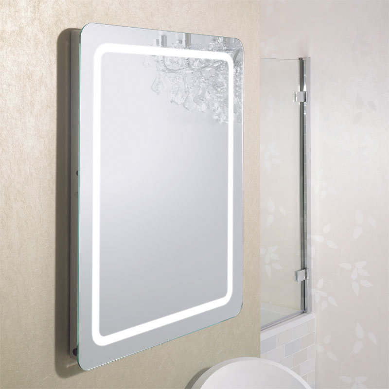 Bauhaus - Celeste 80 LED Back Lit Mirror with Demister Pad - MF8060B profile large image view 2