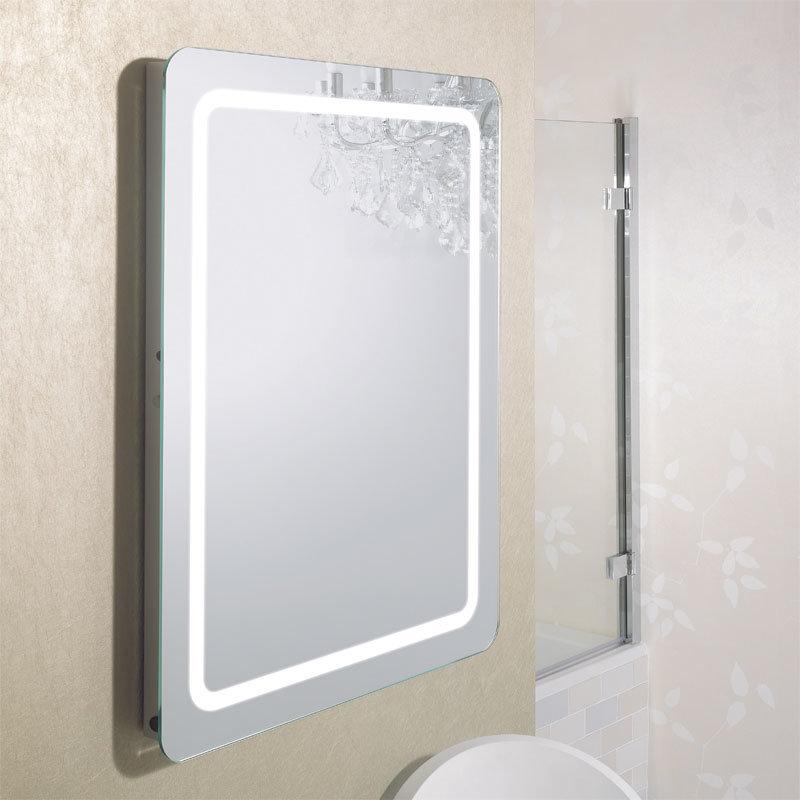 Bauhaus - Celeste 80 LED Back Lit Mirror with Demister Pad - MF8060B Profile Large Image