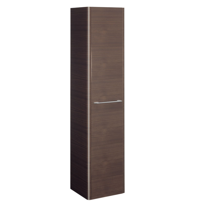 Bauhaus - Celeste Wall Hung Tower Unit - American Walnut - CL3516FAW profile large image view 1
