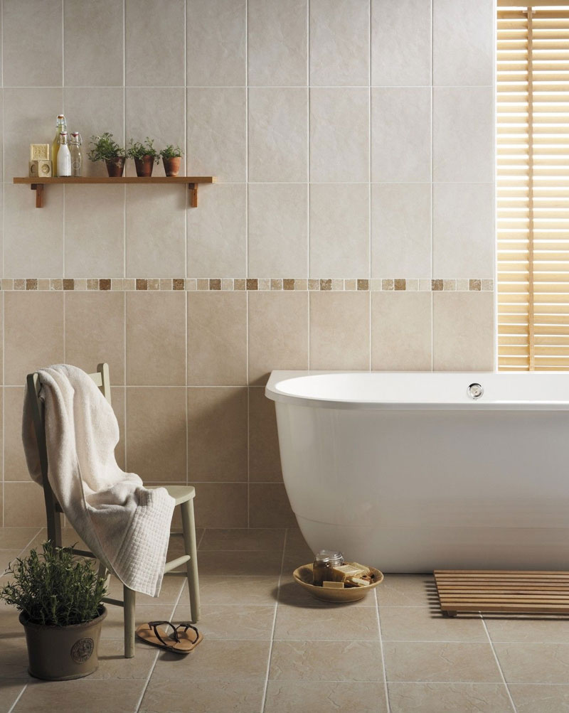 BCT Tiles - 10 Buxton White Wall Rustic Tiles - 248x398mm - CAN42933