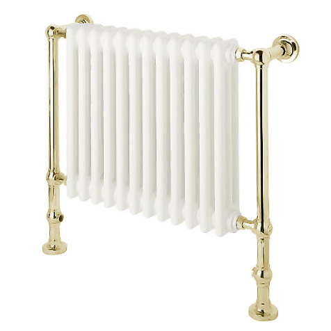 Mere Traditional Churchill Radiator/Towel Rail - Gold - 30-6064 Large Image