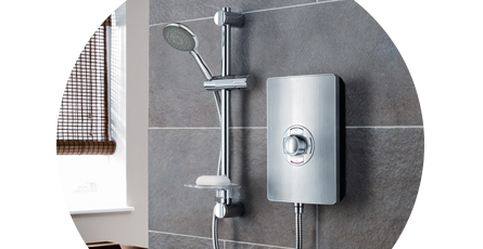 Electric showers | Power shower | Victorian Plumbing